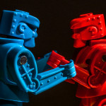 2017-077 - red vs blue, by Robert Couse-Baker